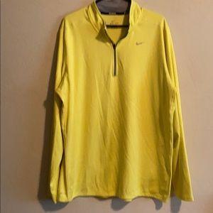 Men's Nike half zip long sleeve